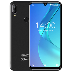 Перейти на Алиэкспресс и купить oukitel c16 5.71дюйм. hd+ 19:9 waterdrop android 9.0 smartphone fingerprint mt6580p 2g ram 16g rom 2600mah unlock mobile phone