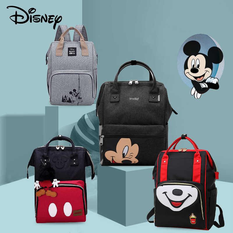 Disney 2019 nowa torba na pieluchy plecak o dużej pojemności wodoodporna pieluszka zestawy mumia macierzyński plecak podróżny torebka pielęgniarska