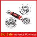 Набор торцевых гаечных ключей Tiger для автомобиля  инструмент для ремонта автомобиля 52 в 1  набор ключей с вращением на 360  универсальный набор...