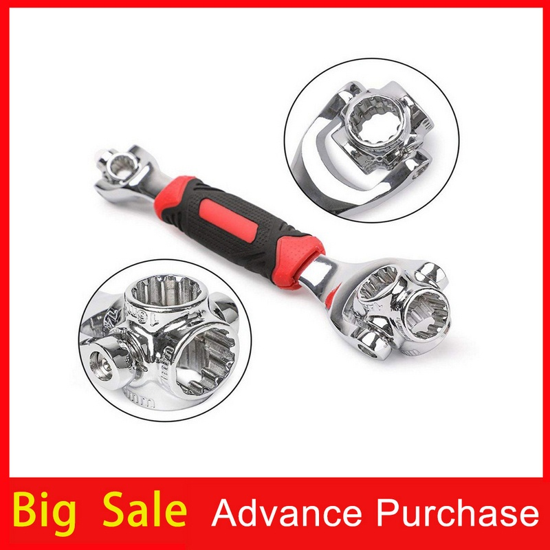 Tiger Socket Wrench Set For Car Auto Repair Tool 52 In 1 360 Rotation  Set Of Keys Universal Wrench Set Double Head Spanners