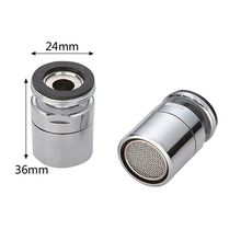Brass Water Saving Tap Faucet Aerator Sprayer Attachment  with 360-Degree Swivel A69D