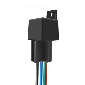 Image 2 - 자동차 추적 릴레이 gps 트래커 장치 gsm 로케이터 원격 제어 도난 방지 모니터링 오일 전원 시스템 app 차단