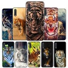 Copertura Della Cassa del Silicone Per Samsung Galaxy A50 A80 A70 A40 A30 A20 A20e A10 A51 A71 Nota 8 9 10 più di 5G 10 Lite Tigre di Modo di Bella