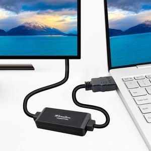 Image 4 - פעיל 4K HDMI לdisplayport 1.2 ממיר מתאם כבל 1.8m HDMI ב DP החוצה