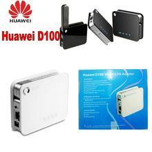 Бесплатная доставка беспроводной маршрутизатор d100 (черный/белый)