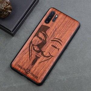 Image 5 - Чехол для телефона Samsung galaxy note 10, note 9, Оригинальный Деревянный чехол Boogic из ТПУ для Samsung s10, s20, note 10 plus, аксессуары для телефона