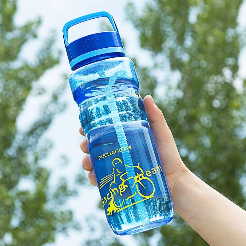 2000ML bouteille deau écologique haute capacité voyage Fitness Portable bouteille extérieure eau Botellas De Agua Drinkware DA60SP