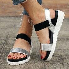 Summer sandals women flat Shoes peep toe sandalias Roman sandals woman casual shoes Ladies Flip Flops