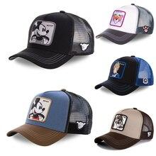 New Brand Anime Dragon Ball Snapback Cotton Baseball Cap Men