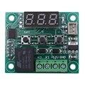 2 шт. 12 В DC цифровой контроль температуры Лер плата микро-цифровой термостат-50-110 °C Электронный температурный контроль модуль S