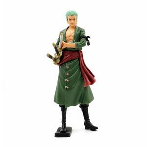 Image 4 - Un Pezzo Grandista Roronoa Zoro Action Figure 1/6 scala dipinte figura Il Grand Uomini di Linea Sanji PVC figure Giocattoli Brinquedos