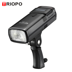 TRIOPO F1-200 2.4G Wireless TTL Flash Outdoor Flash Light for TRIOPO G1 Trigger 200Ws with Battery for Canon Nikon Sony Camera