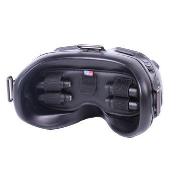 Pokrowiec ochronny do DJI gogle FPV V2 antena karta Micro SD uchwyt do przechowywania akcesoriów DJI FPV Combo tanie i dobre opinie BeeHawk CN (pochodzenie) NONE FV-Q9307 Package Size 200*140mm XIAOMI 146*59mm PU Flannelette