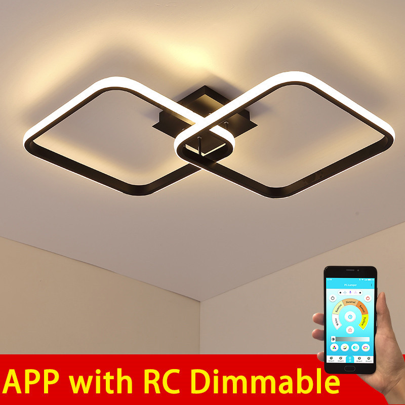 2020 Design LED Ceiling Light For Living Room Dining Bedroom Luminarias Para Teto Ceiling Lamp For Home Lighting Ceiling Light