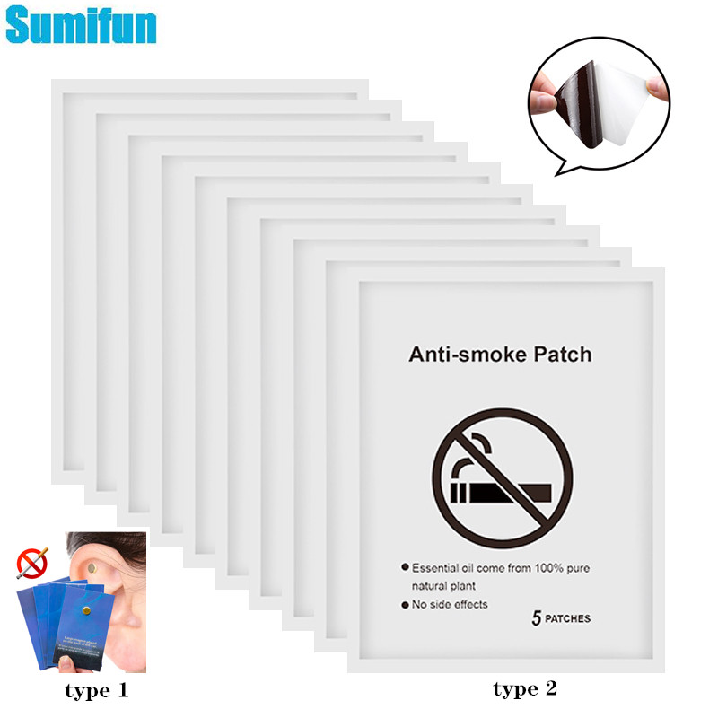 Sumifun 20 шт. курить Патчи/магнит Quit курения натуральных ингредиентов анти-дым травяные патчи медицинские пластыри