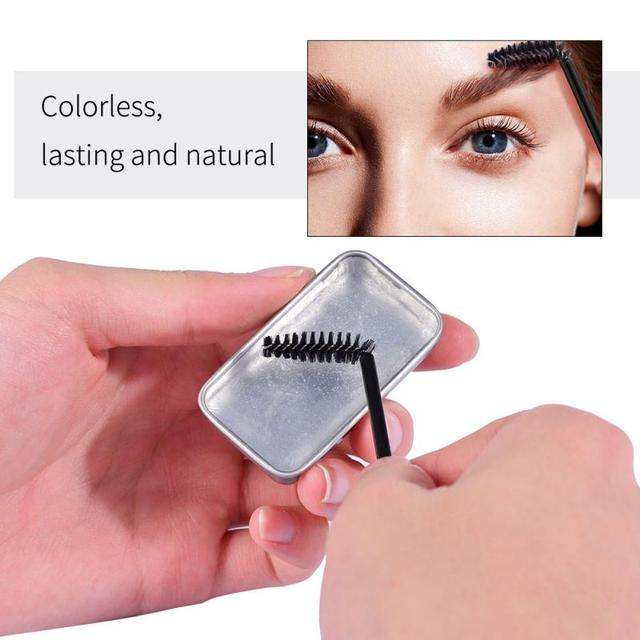 3D Feathery Brows Makeup Balm Styling Brows Soap Kit Lasting Eyebrow Setting Gel Waterproof Eyebrow Tint Pomade Cosmetics TSLM1 5