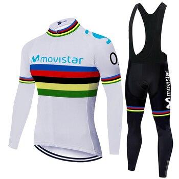 Conjunto de Ropa de Ciclismo para hombre, conjunto de camisetas de Ciclismo...