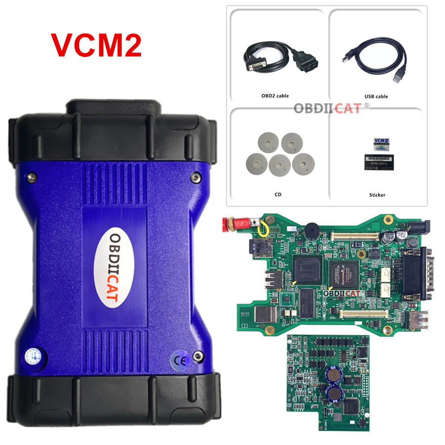 VCM 2 For Lan--d Rov--er/Jag--uar VCM2 IDS SDD V143 II Diagnostics Tool J--LR V143 VCM2 J---LR IDS OBD2 Scanner