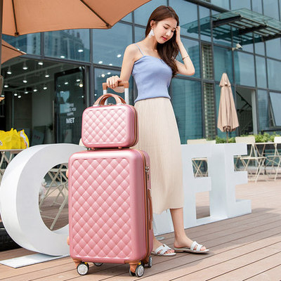"2 piece set suitcase,Small fresh universal wheel Luggage,20""boarding box,24""/26""men and women trend trolley case Fashion valis"