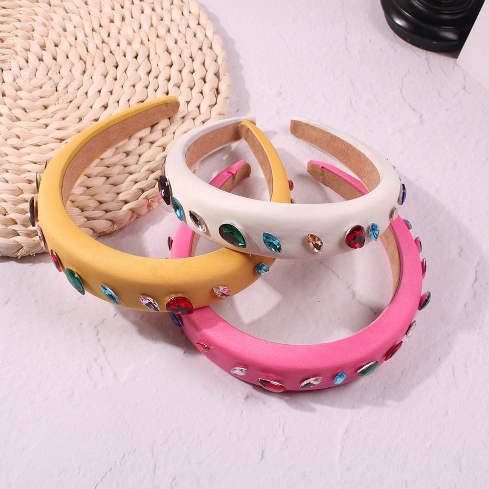 Faixas de Cabelo de Largura Headband Doces Colore HA969