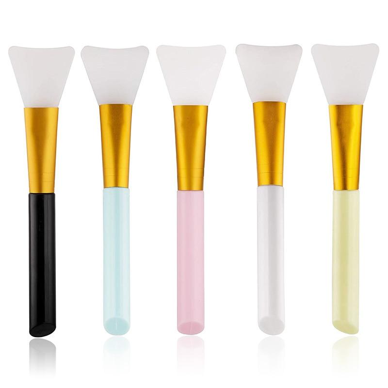 1 шт. Профессиональные кисти для макияжа, кисти маска для лица из силиконового геля DIY косметический Красота инструменты оптом