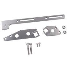LS3 Adjustable Throttle Cable Bracket for 102mm Sheet Metal Intake Rectangle Port 551447