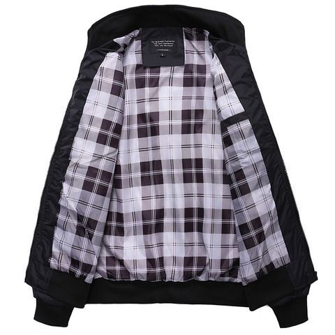2019 New Jacket Men Fashion Casual Loose Mens Jacket Sportswear Bomber Jacket Mens jackets men and Coats Plus Size M- 3XL Karachi