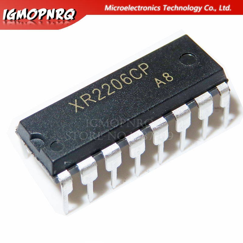 20PCS XR2206CP DIP16 XR2206 DIP 2206CP New And Original IC