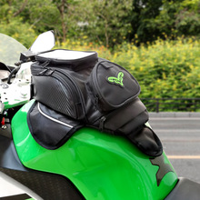 MR CHAOS Motorcycle tank bag Oil Fuel Bag Magnetic moto saddle luggage GPS Phone Bag Bigger Window suitcase For iphone Samsung