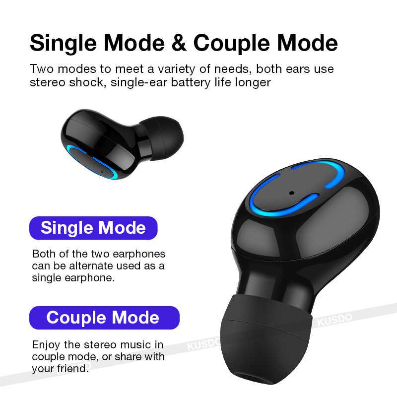 Auriculares Bluetooth auriculares inalámbricos tws estéreo deporte Gaming auriculares manos libres para todos los teléfonos inteligentes Xiaomi iPhone