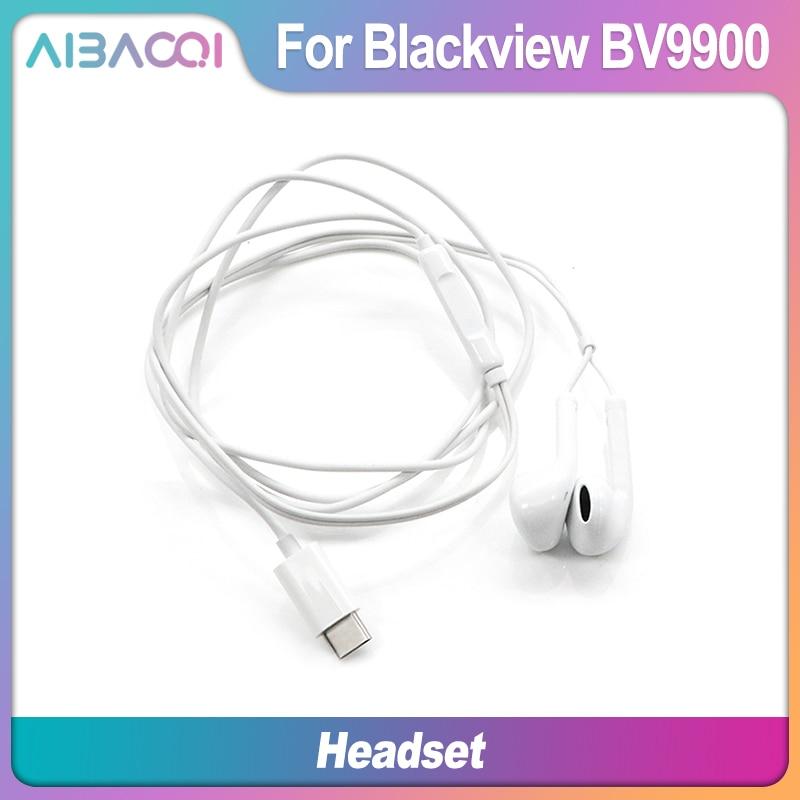 Original Earphone Headset For Blackview BV6000/BV7000 Pro/BV8000 Pro/BV9000 Pro/BV6100/BV9100/BV9900 Phone(China)