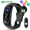 IP67 Waterproof Bracelet Cardio Plus Smart Fitness Bracelets Sports Activity Tonometer Clock Band Blood Pressure Measuring Watch