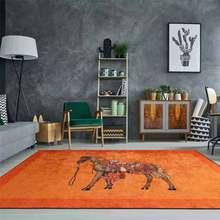 Retro Horses Carpets Doormats Rugs For Home Gamer Bathroom Entrance Door Mat Living Room Kitchen Floor Stair Bedroom Hallway