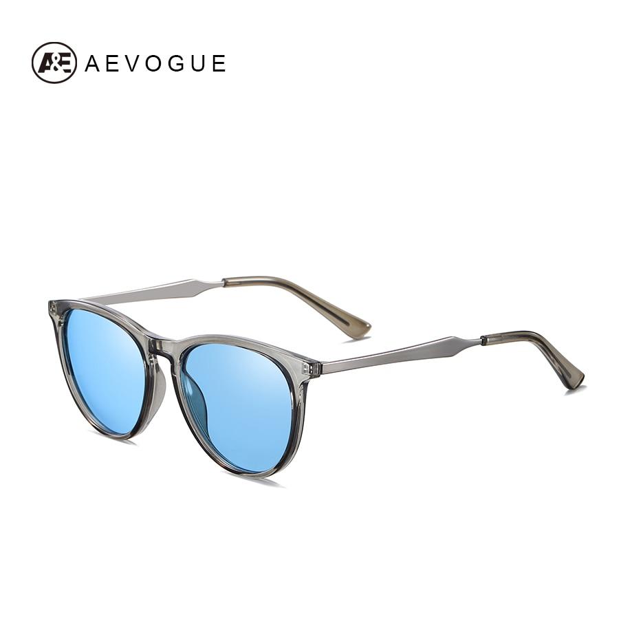 AEVOGUE New Women Polarized Korean Fashion Sunglasses Men Driving Retro Outdoor Glasses Brand Design UV400 AE0816 8