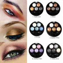 5 Colors Glitter Eyeshadow Palette Shimmer Matte Eye Shadow Makeup Long Lasting Eye Palette Beauty Cosmetic Tools zhenduo 15 colors shimmer matte glitter eyeshadow natural long lasting eye shadow palette pigment beauty makeup palette