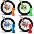 36 шт. велосипед мотоцикл колёса для велосипеда спиц Обёрточная бумага грязи украшения для колеса в мотокроссе говорил Обёрточная бумага s д...