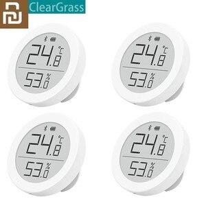Image 1 - Youpin Cleargrass Digitale Bluetooth Thermometer En Hygrometer Elektronische Inkt Scherm 30 Dagen Data Door Voor Mi Thuis App