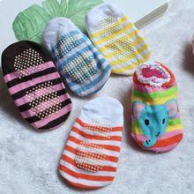 Sock Newborn-Baby Girls Toddler Print-Sole Anti-Slip Infant Random-Color 0-24M Soft Boys