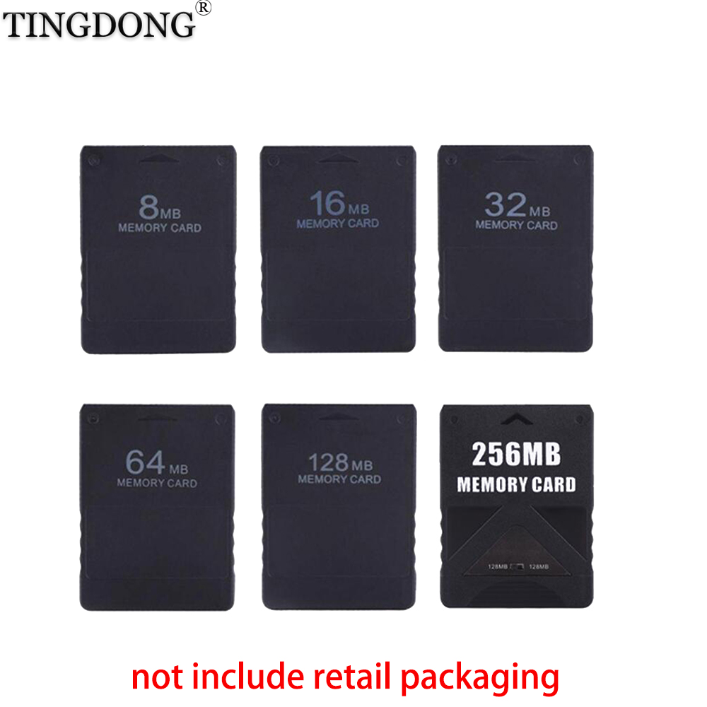 10 PCS 8M /16M /32M /64M /128M /256M Memory Card Save Game Data Stick Module For Sony PlayStation 2 PS2 Extended Card Game Saver