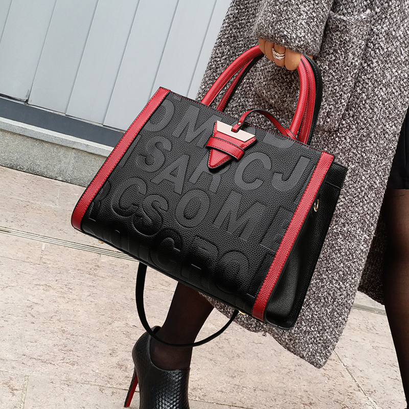 2019 Luxury Handbags Women Bag Designer High Quality Leather Shoulder Bag Women Big Tote Casual Female Shoulder Messenger Bags