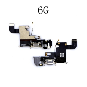 Image 4 - LEOLEO USB Charging Port Dock Connector Flex Cable For iPhone 4G 4S 5G 5S 5C SE 6G 6 Plus 6S Mircophone Headphone Audio Jack