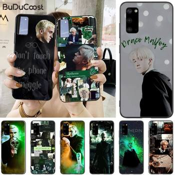 Jomy Draco Malfoy Phone Case For Samsung Galaxy S10 Plus lite S10e S20 S8 S9 plus image