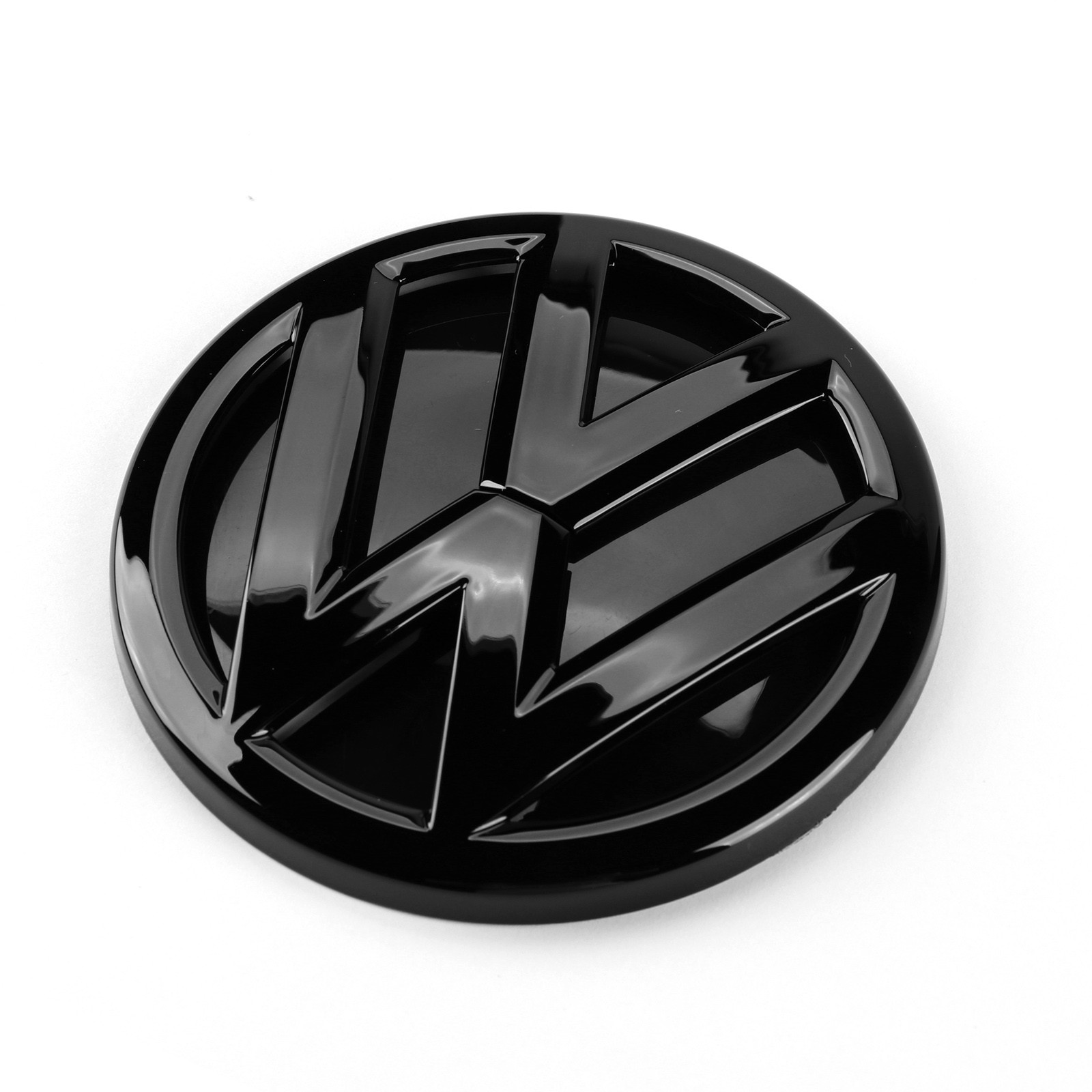 Блестящая Черная задняя крышка багажника 110 мм для VW Volkswagen Polo 2014 2015 2016
