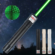 High power burning green laser pointer visible light green light military burning fire indicator torch mini laser pointer cat to