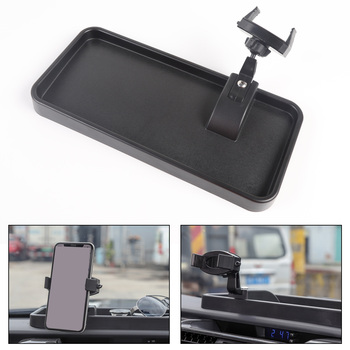 Areyourshop 360 Degree Mount Phone Cellphone Holder Mount Black For Toyota 4 Runner 2010+ Car Mount Phone Holder Car Auto Parts