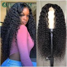 Peruca sintética, perucas sintéticas para mulheres negras, longa cor preta, extensão de cabelos encaracolados, para uso diário, barata, frontal, renda sintética perucas, perucas