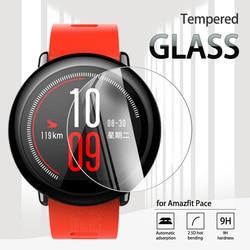 Закаленное стекло для смарт-часов Amazfit Pace 2.5D, Защита экрана для Xiaomi Huami Amazfit Pace GPS, прозрачная пленка против царапин