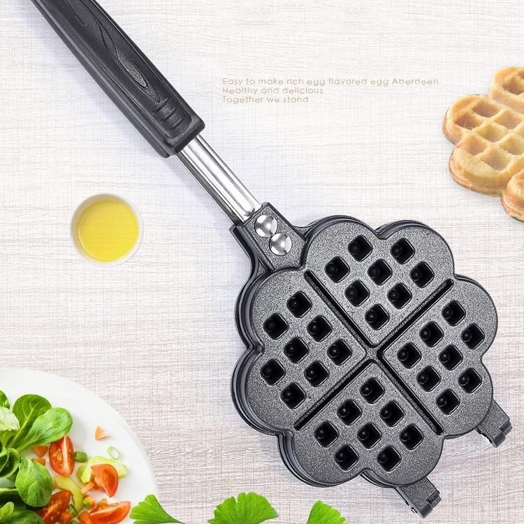 Heart-shaped Waffle-maker Pan Non-stick 15 Cm Muffin Cake Lattice Barbecue Steak Breakfast Pot Dish Kitchen Baking Waffle Mold
