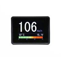 Automobile On-board Computer Car Digital OBD2 Speedometer Fuel Computer Display Consumption meter Temperature Gauge