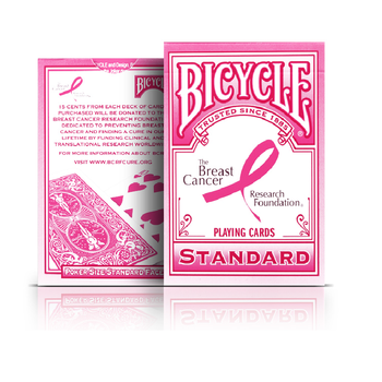 Bicycle Pink Ribbon Playing Cards Bicycle Collectable Deck Poker Size USPCC Limited Edition Deck Magic Cards Magic Tricks Props tally ho playing cards magic deck magic tricks cardistry deck